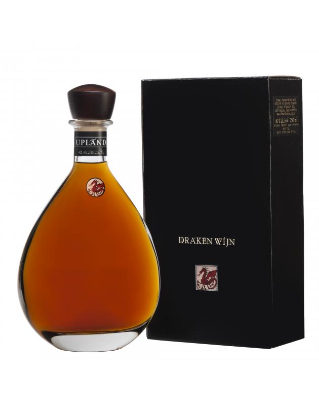 Upland Drakenwijn XO Brandy carafe