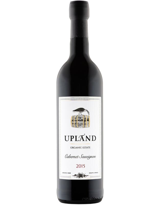 Upland Cabernet Sauvignon 2015 sulphite free vegan wine