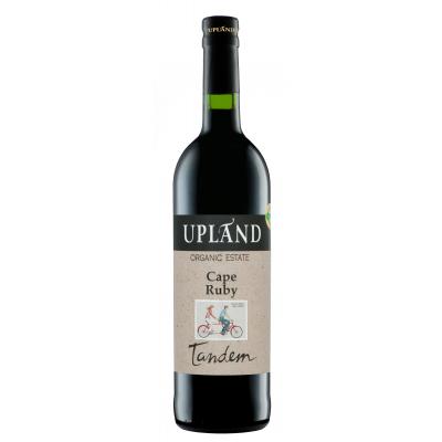 Upland Ruby Port Tandem sulphite free vegan wine