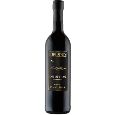 Upland Intuition Pinot Noir 2019 sulphite free vegan wine